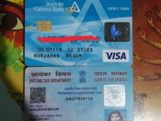 Found pan card at Jalukbari