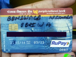 Found ATM card at Syndicate Bank ATM counter S.F Road.