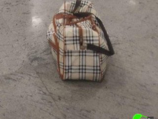 Bag lost at Namchi mainline taxi stand