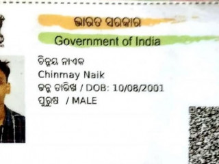 Found wallet with documents of Chinmay Naik