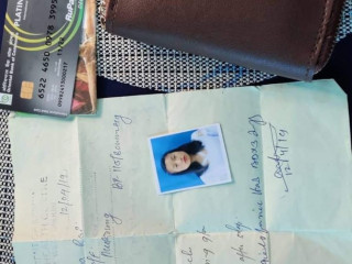 Found wallet with documents named Sabina Rai of Mukrung