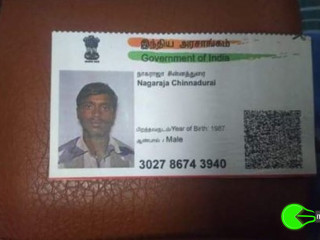 Lost wallet with documents while travelling in Theni bus