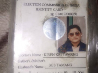 Found id card in the taxi