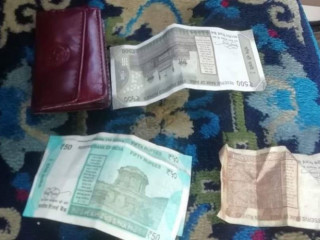 Found wallet of Mamta Thapa