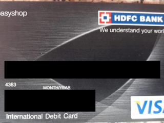 ATM card found at at TRC lal chowk