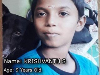 9 year old kid missing from selayur