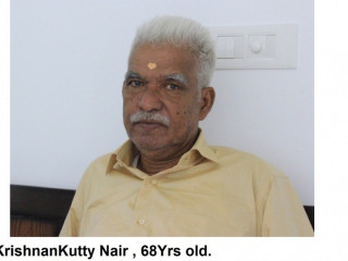 Senior citizen missing from Neeladri Road, Electronics City
