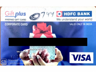 ATM card found HDFC bank ATM in Bibi Wala Chowk.
