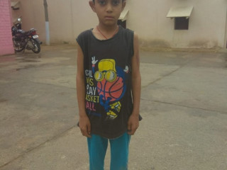 Boy found in balsamand, Haryana