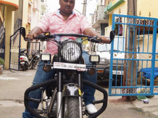 Black Bullet Bike Missing