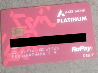 ATM card found near Cuddapah