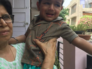 Kid found at Malviya Nagar , Delhi