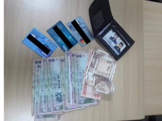 Found wallet with cash