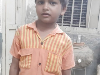 Kid found at Old Faridabad railway station