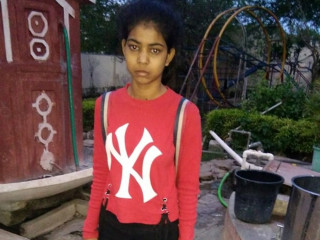 Seven year old girl found at Indore