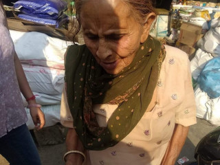 Senior Citizen found near jammu