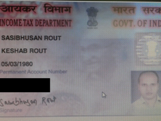 Lost PAN card