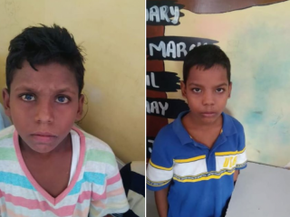 Children found at faridabad
