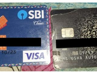 Found ATM card