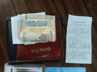 Wallet found at Konappana Agrahara