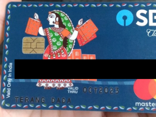 ATM card found in the name of TERANG DADA
