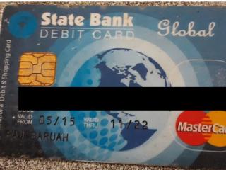 ATM card found at Gohpur