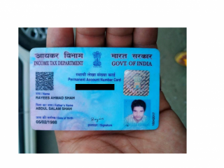 PAN card found at Srinagar