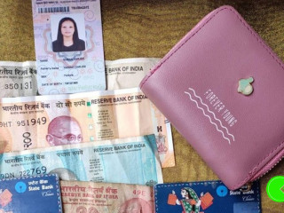 Found a wallet at Gangtok