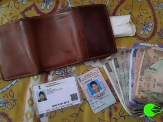 Found wallet at Jorethang