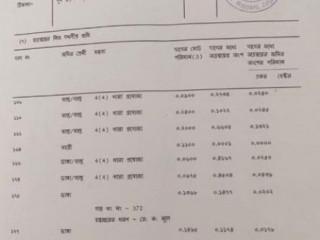 Document found at Durga Mandir, Kadamtala