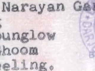 Found driving license of Satya Narayan Garg