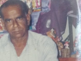 Senior citizen missing from chennai