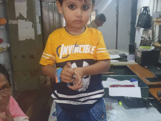 Kid found at Mandsaur