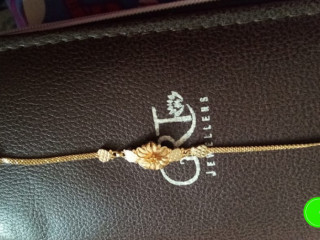 Lost bracelet while travelling from Mettiguda to Ammerpet