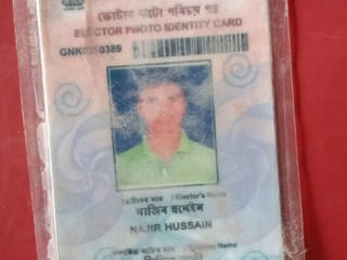 Voter id lost at Abhayapuri