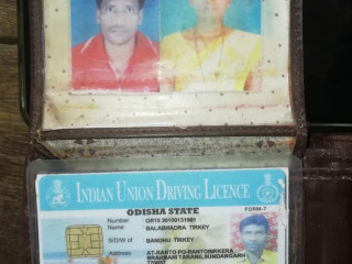 Found wallet with license of Balabhadra Tirkey