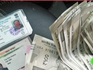 Found wallet with documnet named Tularam Sharma and money