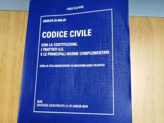 Trovato questo codice civile a San Giobbe