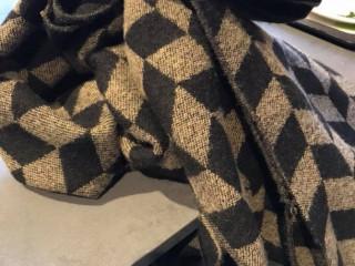 Trovata sciarpa a mensa rio novo, lasciato in cassa