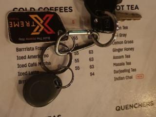 Found a key with Xtreme gym tag
