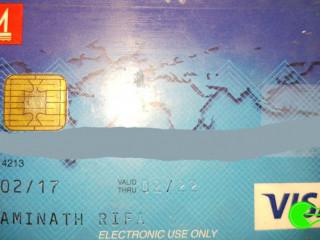 Found card at Dharavandhoo Airport