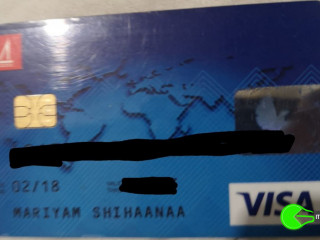 Found bank card near STO food court area