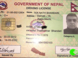 Lost license and ATM card on the way to Damak from Biratnagar